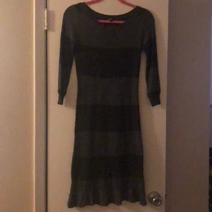 Bebe fit and flare dress